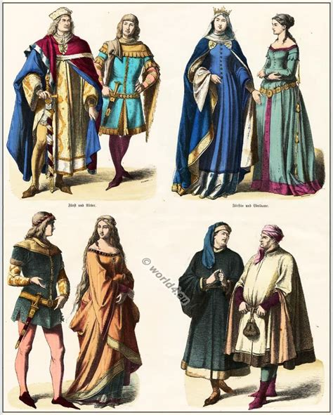 Theories Of Fashion Costume And Fashion History by 6 14th Century The On The Bottom Right Corner Are