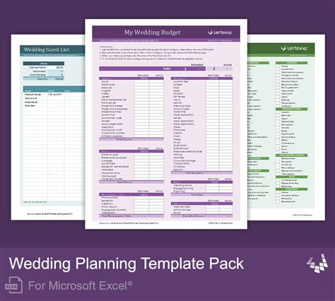 wedding planning template excel wedding planning template pack for excel