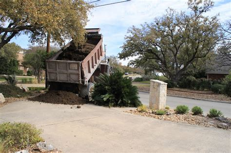 How Many Cubic Yards In A Ton Rock Oak Deer Sixteen Tons And What Did We Get Topsoil