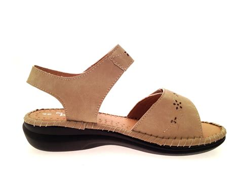 comfortable sandels womens low wedge wide comfort cushioned sandals summer shoes ladies size uk 4 8 ebay