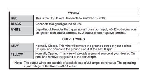 nitrous related wiring diagram nos nitrous wot relay with