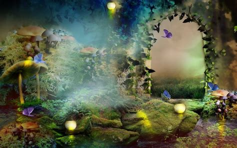 e7 themes hd enchanted forest download the enchanted forest 1920x1200