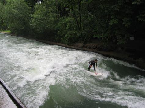 Englischer Garten Surfing by Surfing In The Englischer Garten Photo
