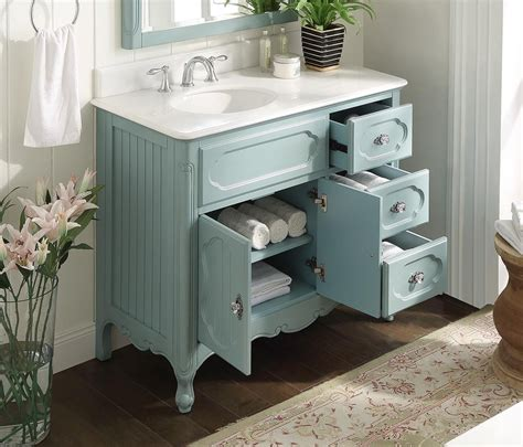 Cottage Bathroom Vanities by Cottage Style Bathroom Vanities 48 Inch Single Sink