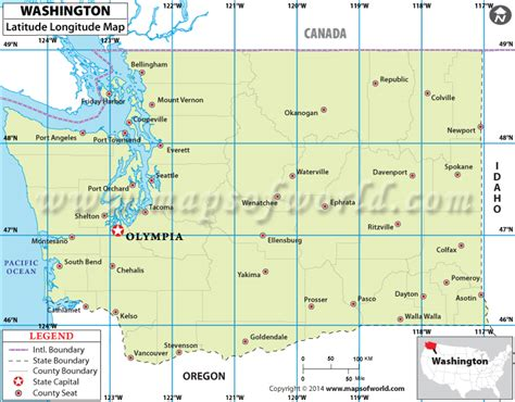 us map with city names and latitude lines buy washington latitude longitude map