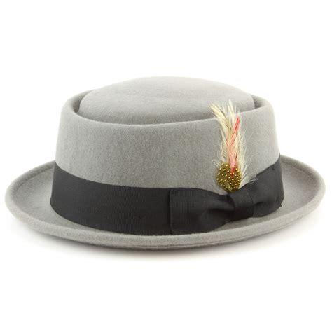 Porkpie Hat 2 hat pork pie porkpie brim felt wool 100 upturn black