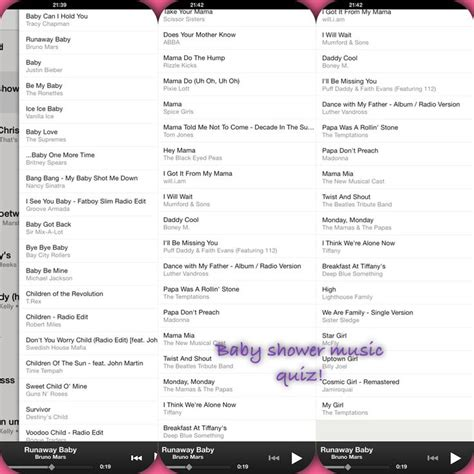 25 best ideas about baby shower playlist on