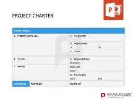 program charter template project charter six sigma powerpoint templates http