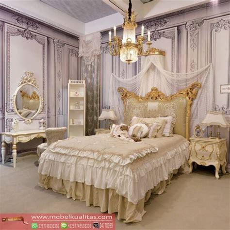 Sketsel Classic set kamar tidur mewah bedroom classic furniture terbaru mebel jati ukir kualitas jepara
