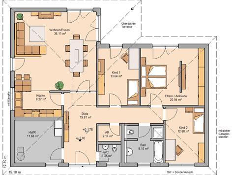 bungalow balance von kern haus wohnen auf einer ebene