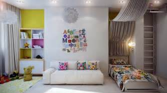 kid room casting color over kids rooms