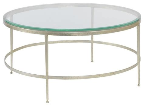 modern cocktail table beveled glass traditional