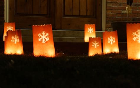 electric luminaries for christmas laser cutting luminarias custom luminary bags