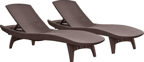chaise lounge ikea singapore keter 2pc rattan outdoor chaise lounge chairs patio table