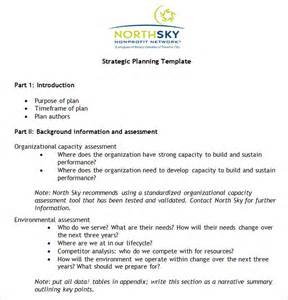 non profit plan template non profit strategic plan template free word pdf