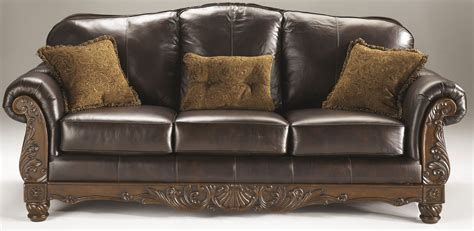 sofa ashley north shore north shore dark brown sofa from ashley 2260338