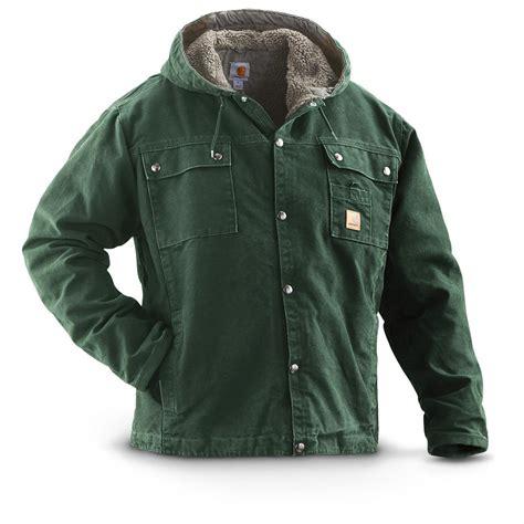 sherpa jacket carhartt s multi pocket sherpa jacket 236502