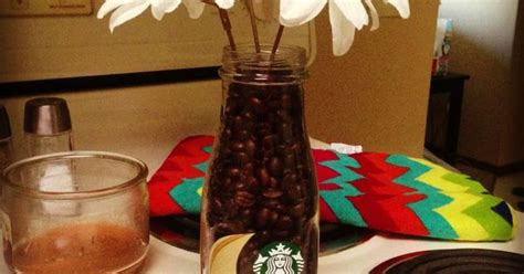 starbucks bottle  coffee beans   simple