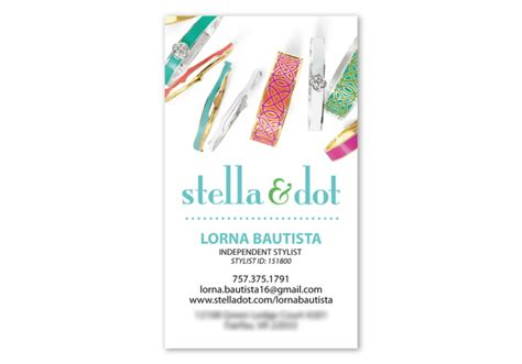 free stella and dot business card template business cards letterheads by lorna bautista at coroflot