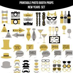 happy new year photo booth props printable 2017 new year photo booth prop 2 free printables