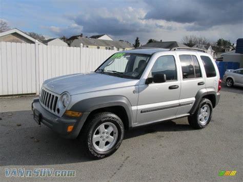 jeep sport 2005 2005 jeep liberty sport 4x4 in bright silver metallic