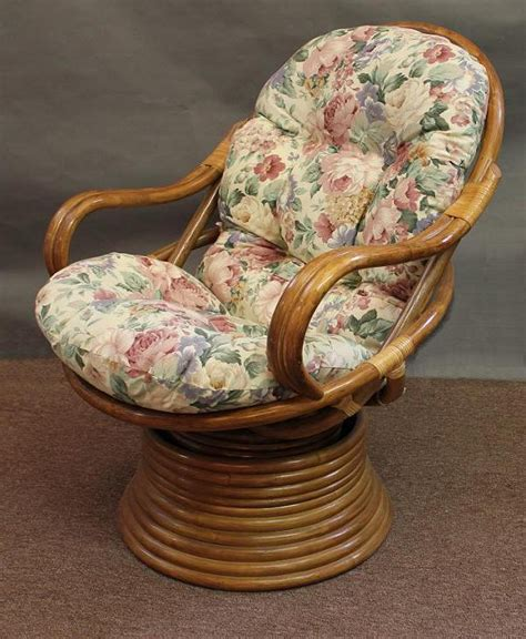 swivel rocker chair covers rattan swivel rocker cushion all about wicker