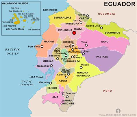 world map ecuador ecuador country profile free maps of ecuador open
