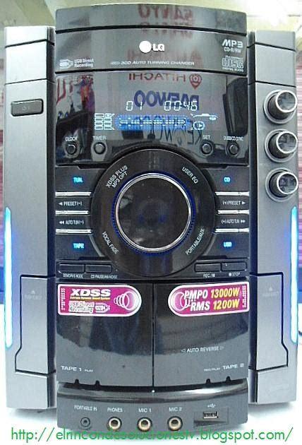 Lu Gantung Dony Lg 903 el rinc 243 n de soluciones tv lg mcv903 a0u puesta a punto y servicio al mecanismo de discos