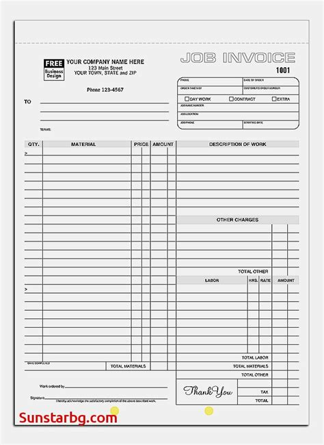 Free Printable Invoice Templates For Independent Contractor Invoice Template Free Cool Free Cool Invoice Template Free