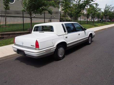 purchase used 1993 chrysler new yorker fifth ave 75k original mi 50 photos loaded a purchase used 1993 chrysler new yorker fifth ave 75k original mi 50 photos loaded a