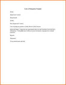 Resignation Letter Effective Immediately by 6 Effective Immediately Resignation Letter Exles