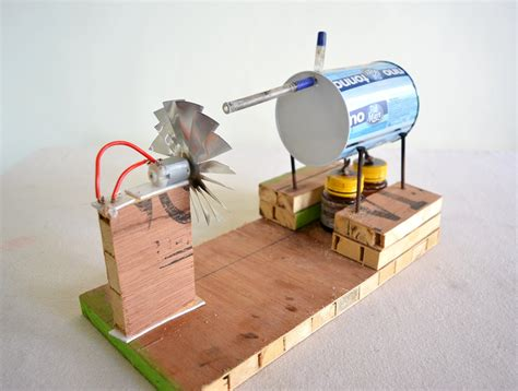how to make steam power generator a cool science project