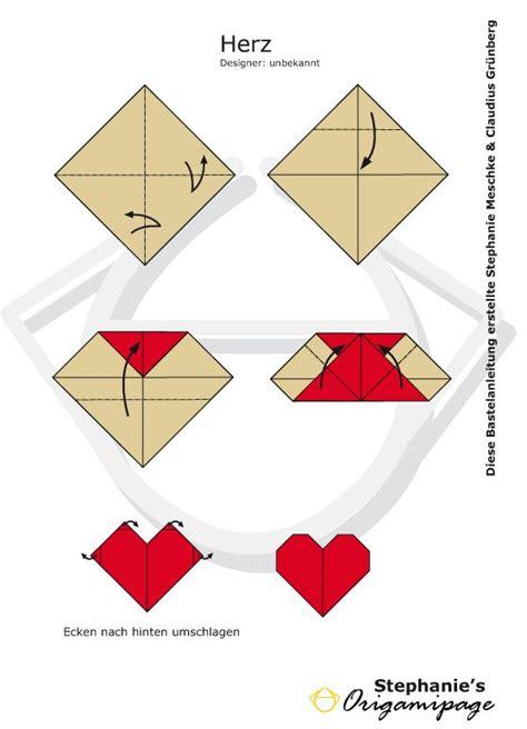 Mit Origami - best 25 origami herz ideas on herz falten