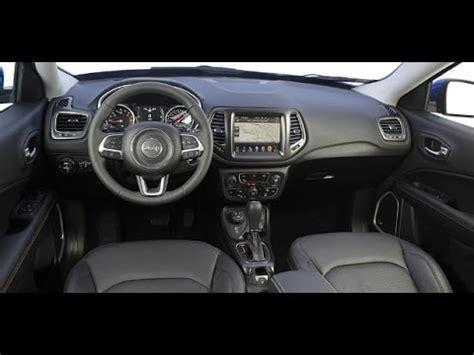 jeep compass interior novo jeep compass 2017 interior e exterior canal