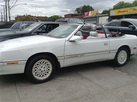 Chrysler Lebaron Gtc by 1992 Chrysler Lebaron Gtc White Special Edition