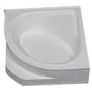 54 quot x 54 quot fiberglass corner tub white mobile home bathtubs