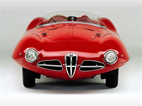 alfa romeo 1900 c52 disco volante spider 1952 old