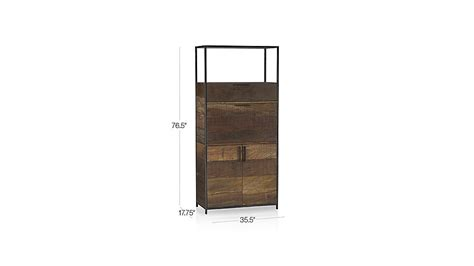 clive bar cabinet crate and barrel drinks cabinet clive bar cabinet crate and barrel