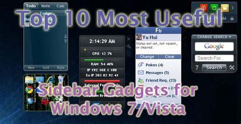 top 10 most useful high tech gadgets on amazon global flare top 10 most useful windows 7 vista sidebar gadgets