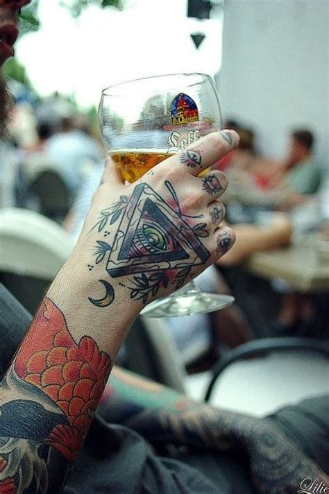 tattoo eye in hand 29 triangle eye tattoos designs and ideas