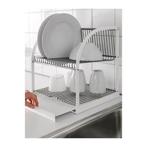 ikea plate storage best 197 ende dish drainer silver colour white 32x29x36 cm ikea