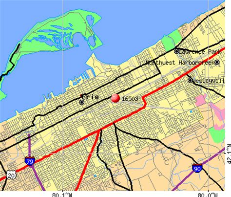 zip code map erie county pa image gallery erie payment