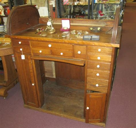 vintage watchmakers bench beautiful oak roll top jewelers bench watchmakers bench