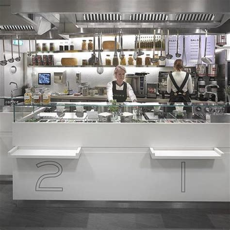 fast food kitchen design julia s by merkx girod fast food restaurant