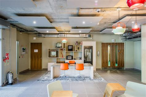hlm completes interior renovation  screenworks office