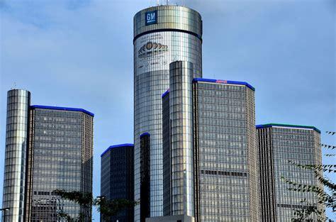general motors headquarters interior renaissance center and general motors headquarters in