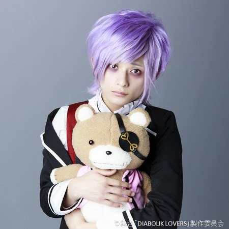 diabolik lovers anime cast diabolik lovers stage play cast unveiled in costume news