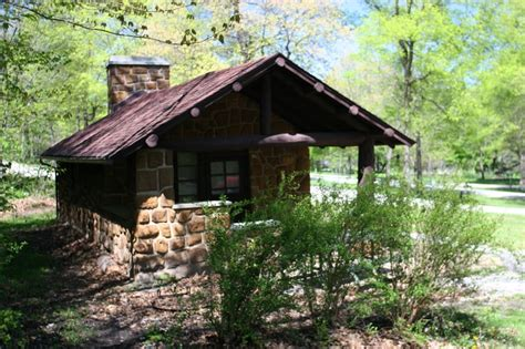 Iowa State Park Cabins by Cabin At Dolliver Memorial State Park Near Lehigh Iowa