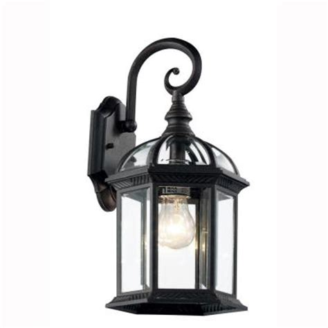 Outdoor Coach Lighting Bel Air Lighting Wall Mount 1 Light Outdoor Black Coach Lantern With Clear Glass