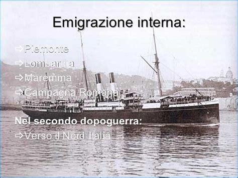 emigrazione interna italiana canzoni nella valigia 1 corso